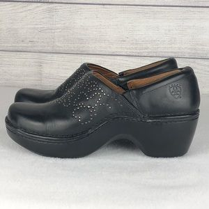 Ariat Women's Clogs/Mules Black Size 9 Studded